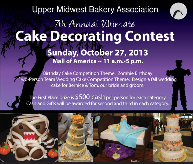 Cake Decorating Competition Show : Announcing   Ultimate Cake Decorating Competition